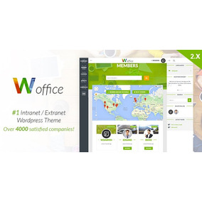 Sistema De Intranet/extranet Woffice Wordpress