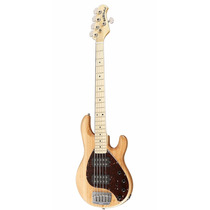 Contrabaixo 5c Music Man Sting Ray Hh C/ Case Natural Gloss