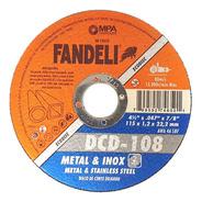 Disco Corte Preciso Fandeli 4-1/2  El Mejor Para Corte Fino