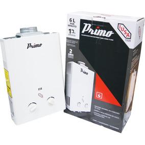 Calentador Instantáneo Iusa Primo 6 Litros Gas L.p B52606