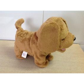 Cachorro De Pelucia A Pilha Marca Estrela