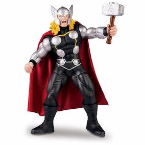 Boneco Thor Premium Marvel Gigante 55 Cm Articulado Mimo
