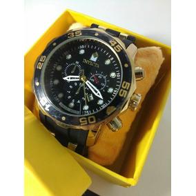 e54eda13cf0 Tela A O Inox Preto Masculino - Relógio Invicta Masculino no Mercado ...