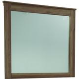 Espejo Rústico De Weston Los Wes-mr4036 Muebles Lang