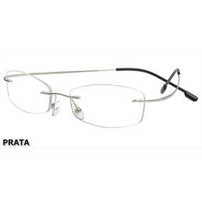 Armação P/ Óculos De Grau Sem Aro Em Titanium - 8 Cores
