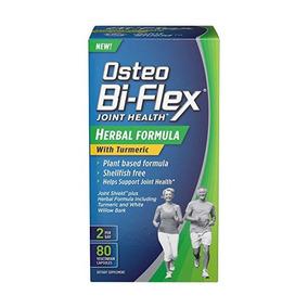 Fórmula Osteo Bi-flex¬ Herbal W / Cúrcuma 80 Cápsulas Vegeta