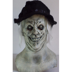 Ghost Spectre Fantasma Mascara Latex Halloween Disfraz Fiest