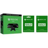 Consola Xbox One Negra 500gb Reconstruida 6 + 3 Meses Live