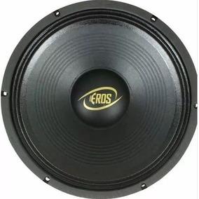 Woofer E12-450 Lc Black 8 - 12 450w Rms 8ohms - Eros