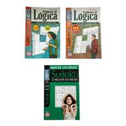 03 Almanaques Coquetel Problemas De Logica E Sudoku