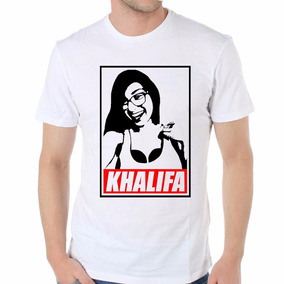 Remera Mia Khalifa Sexy Girl Mujer Hermosa Sensual Envios