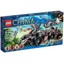 Lego Chima 70009 Worriz Combat Lair 664 Piezas - Nuevo