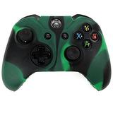 Hde Xbox One Controlador De Piel De Silicona De Caucho Prot