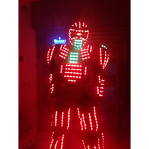 Performance Dj Robot O Traje De Led