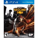 Infamous Second Son Ps4 Playstation 4 - Stock