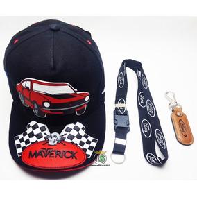 Boné Ford Maverick V8 Muscle + Chaveiro Cordão E Couro c818d28aa0b