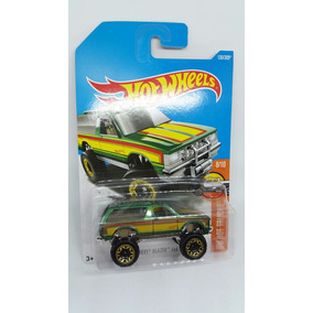 Hot Wheels Camioneta Chevy Blazer 4x4 Hot Trucks