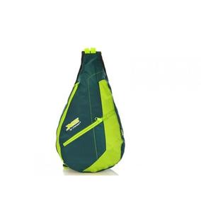 Mochila Masculino Transversal Chenson Impermeavel Verde