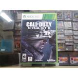 Call Of Duty Ghost Xbox 360 Nuevo Cerrado