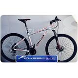 Bicicleta Venzo Eolo R29 24 Vel Alumin. Freno Disco Mecanic
