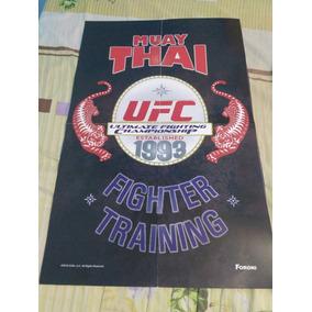 Poster Muay Thai Ufc
