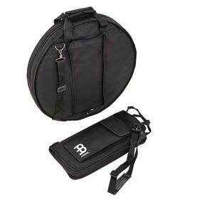 Kit Bag Pratos 22 Polegadas + Porta Baquetas Meinl Mcb22-msb