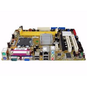 Placa Mãe P5gc-mx Asus Intel Lga 775 Ddr2 C/ Nfe E Garantia