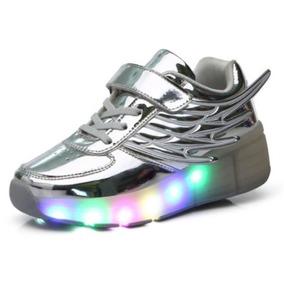 Zapatilla Con Ruedas Led Roller Shoes Niña Despacho Gratis