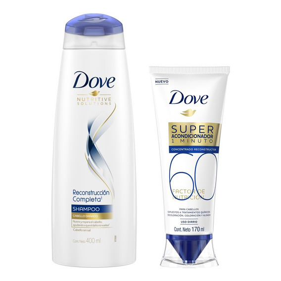 Combo Dove Shampoo Reconstrucción Completa + Super Acond