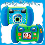Camara Digital Para Niños Vtech Saca Fotos Y Graba Videos