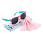 Óculos De Sol Rosa Bebe Infantil 100% Uva Uvb Flexível 0-36m