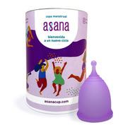 Copa Menstrual Asana Modelo Curva, Sustentable, Certificada