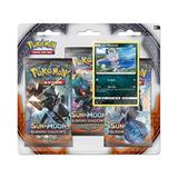 Colección Cartas Pokemon S&m Burning Shadows 3-pack Blister