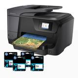 Hp Impresora Empresarial Pro 8710 + 4 Cartuchos Hp 954