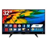 Televisor Aoc 32 Smart Tv,wifi,señal Digital Incorporado