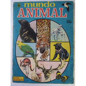 Album De Figurinhas Mundo Animal Ed. Abril 1976 Completo