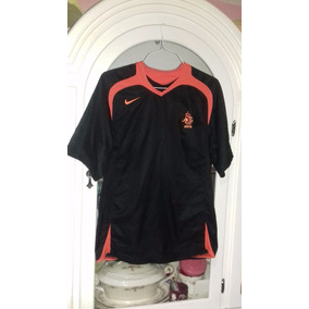 Jersey Seleccion De Holanda Alternativo Negro Nike Talla S