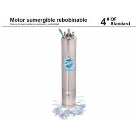 Motor Sumergible 4 Pulgadas 0.5 Hp, 230 Volts, 1 Phase