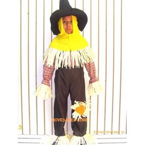 Disfraz Niño Espantapajaros Halloween Dia De Muertos