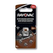 Pilas Para Audifonos Rayovac 312