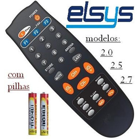 Controle Remoto Receptor Elsys 2.0 / Cromus Cr 3.8 Plus