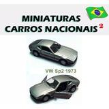 Miniatura Carro Nacionais Classicos Brasileiros Metal Sp2