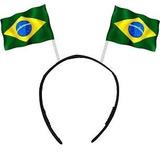 Tiara Brasil Bandeirinhas, Copa - Lote Com 60