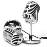 Microfono Para Pc Retro
