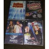 Lote Kit 04 Dvds Aviões Do Forró Ao Vivo Original