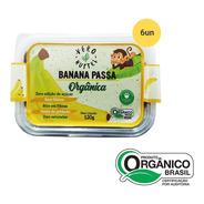 Kit Banana Passa Vero Nuttri Orgânica 120g (6 Un)