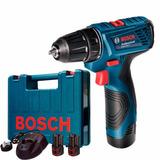 Furadeira Parafusadeira Bosch Gsr 120-li 2 Baterias 12volts