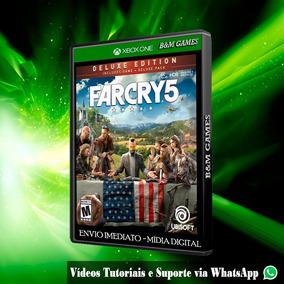 Far Cry 5 V Deluxe Edition Xbox One Mídia Digital