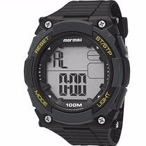 Relógio Mormaii Masculino Wave Digital Moy1551/8y Wr 100m/