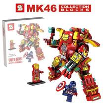 Supe Lego Hulk Buster 232 Piezas!!